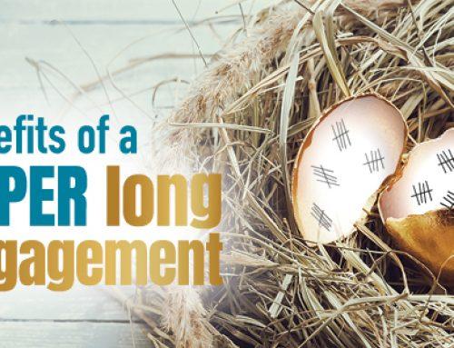 Benefits of a super long engagement