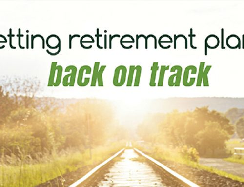 Getting retirement plans back on track